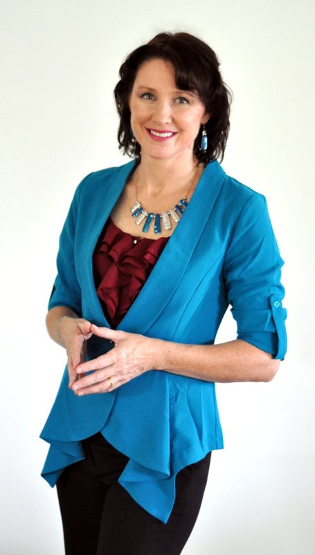 blue jacket